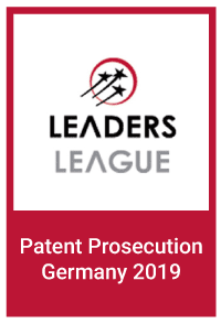 Leaders League: Patent Prosecution Germany 2019