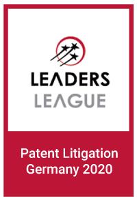 Leaders League: Patent Litigation Germany 2020