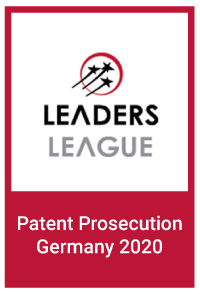 Leaders League: Patent Prosecution Germany 2020